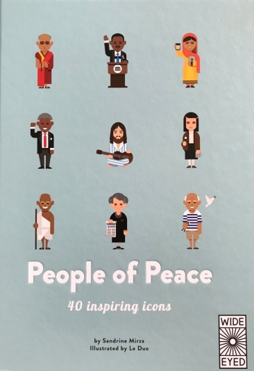 People of Peace: 40 Inspiring Icons by Sandrine Mirza, illustrated by Le Duo