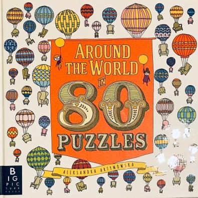 Around the World is 80 Puzzles by Aleksandra Artymowska