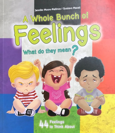 A Whole Bunch of Feelings: What do they mean? 44 Feelings to Think About by Jennifer Moore-Mallinos & Gustavo Mazali